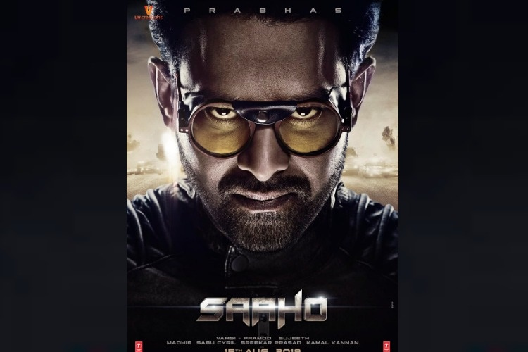 'Saaho' makers release new poster with Prabhas, film to release on Aug 15