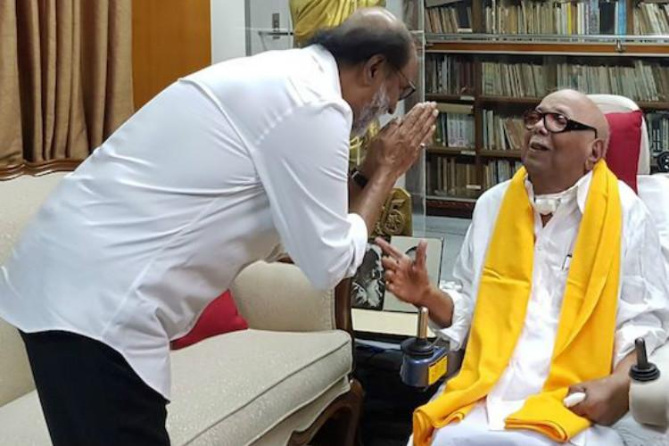 Unforgettable black day in my life: Rajinikanth expresses grief at Kalaignar's passing