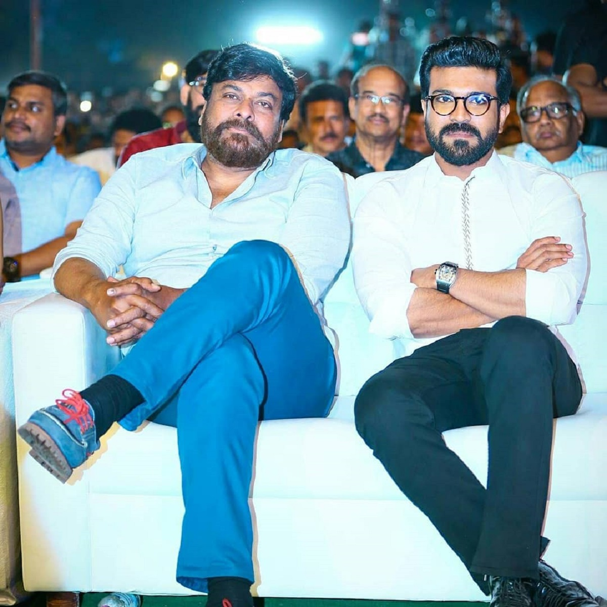Chiranjeevi confirms that Ram Charan is in cast of 'Acharya'