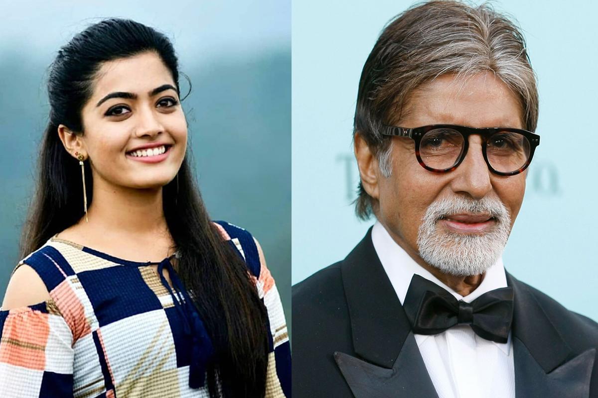 Rashmika Mandanna signed her second B'wood film, will star alongside Big B - The News Minute