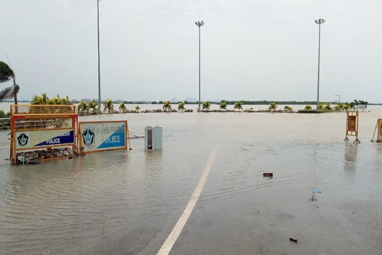 Over 11,000 people moved to relief camps in 2 Andhra districts as river Krishna floods