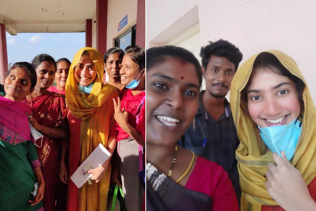 Sai Pallavi steps out to write exam, fans delighted to see her - The News Minute