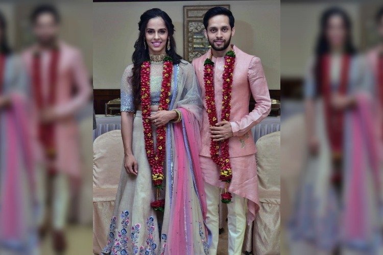 Match made in heaven: Badminton players Saina Nehwal and Parupalli Kashyap get married