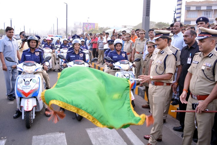 Visakhapatnam launches women's police team 'Shakthi' to reduce gendered violence