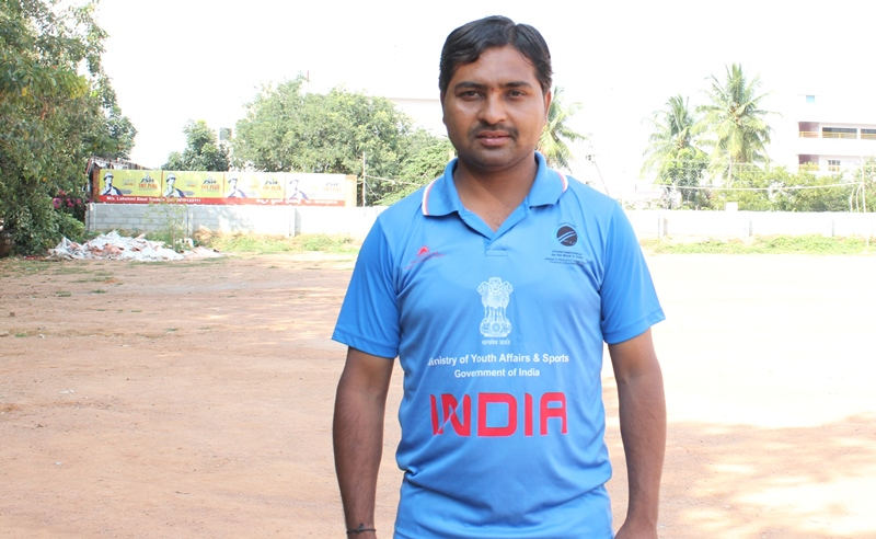 Image result for india blind cricket team captain