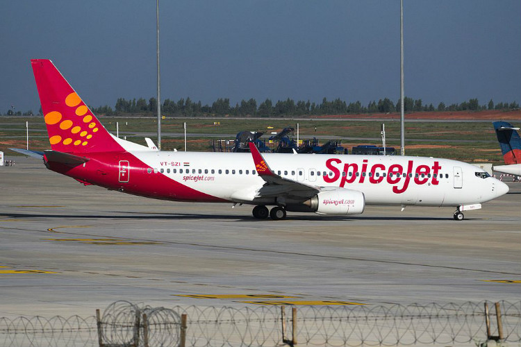 spicejet flight with andhra dgp onboard faces technical