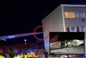 Air India flight hits terminal building at Stockholm airport passengers safe