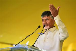 CM Naidu asks partymen to wear yellow-black and protest Modis visit to AP