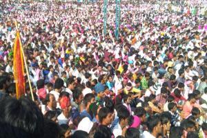 Tribal persons struggle heats up in Telangana Adivasis to boycott Lambadas