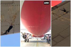 Air India flight damaged during takeoff at Tirupati airport lands safely in Hyderabad