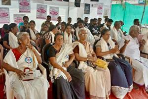 On 100th day of anti-mining protests in Alappad 100 residents go on hunger strike