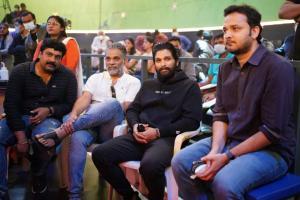 Allu Arjun visits sets of cousin Varun Tejs sports-drama Ghani shares pics