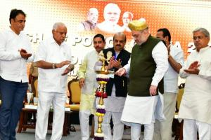 Amit Shah says Yediyurappa govt will complete term dismisses claims by opposition