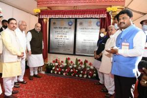Why only Hindi and English on plaques for Karnataka RAF HDK hits out at Amit Shah
