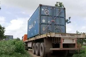 Ammonium Nitrate from Chennai reaches Hyderabad the hub for explosives manufacture
