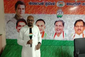 Congress member in Bengaluru arrested for derogatory post against HM Amit Shah