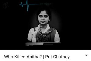 NEET killed Anitha Put Chutney expresses emotions many in Tamil Nadu feel