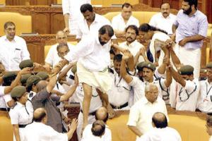 Kerala No relief for LDF MLAs involved in Assembly ruckus trial will go on