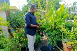 This group of gardeners in APs Machilipatnam grows everything from avocados to grapes