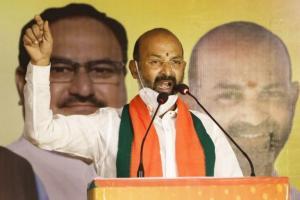 Telangana BJP says party will build Bhagyalakshmi temple near Charminar when in power