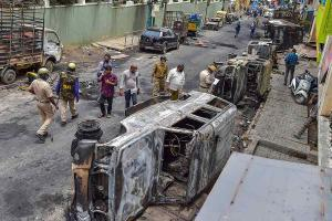 NIA arrests auto-driver in connection with east Bengaluru riots
