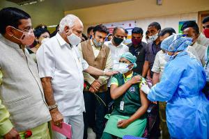 Bengaluru achieves 65 vaccination target on day one better than state average
