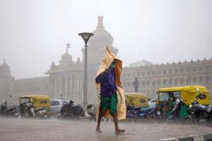 Bengaluru to see heavy rains on Oct 11 12 IMD issues yellow warning