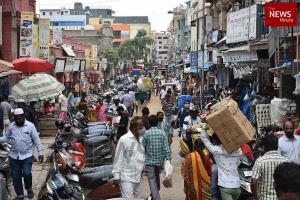 In photos Traffic jams markets and malls open as restrictions ease in Bengaluru
