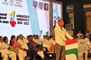Rs 1 lakh crore to develop Bengaluru as Indias second capital Cong manifesto