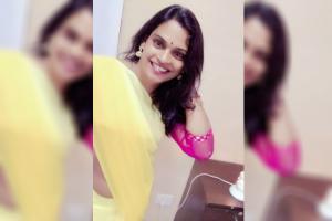 Meet Chandramukhi the Telangana trans woman contesting the upcoming polls