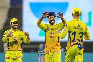 KKRs playoff hopes dented as Jadejas sixes help CSK to win