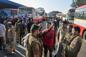 Strike partially affects Bengaluru and rest of Ktaka bus services hit