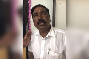 Chennai tender scam Contractor alleges DMK MLA has fixed Rs50 lakh project