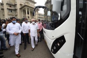 BMTC starts trial run of electric buses in Bengaluru again