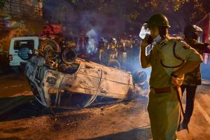 Bengaluru violence Those who damaged public property will pay for it says Home Minister
