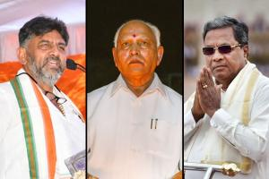 Three bye-polls in Karnataka Rebellion in BJP Congress bids for a comeback