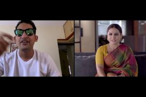 Watch Danish Sait makes Vidya Balan laugh out loud with his hilarious characters