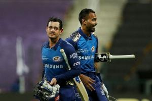 Dominant MI defeat KKR by 8 wickets move to top of IPL table