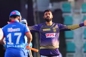 Varun Chakravarthys 5-wicket haul helps KKR beat DC by 59 runs