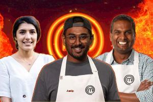 Justin Depinder Sashi Indian-origin cooks who spiced up MasterChef Australia