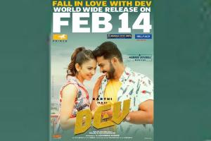 Dev is a love story between two very different people Actor Karthi
