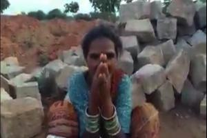 Telangana woman claims land encroached by Gram Panchayat for new dump yard