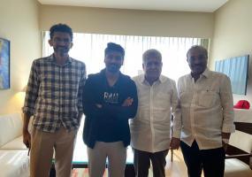 Dhanush and Sekhar Kammula meet in Hyderabad for upcoming film