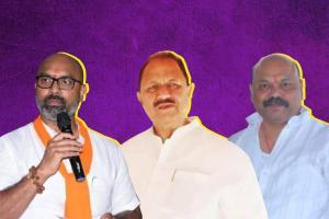 One family three parties The case of Dharmapuri Srinivas in Telanganas Nizamabad