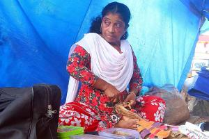 Meet Diana a Kerala cobbler who fought all odds to help the needy