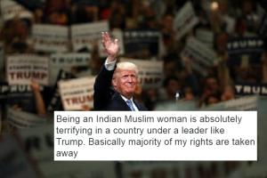 Scared to be Indian Muslim brown Trumps victory has many sharing fears online
