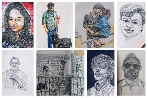 Say it with dots Meet Kerala artist Syam whose Instagram art has won fans