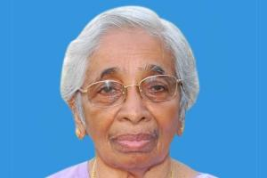 Dr Annie John noted gynecologist and Chalakudys pride passes away at 99