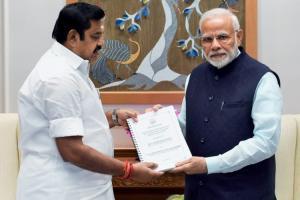 TN CM writes to PM Modi on slew of issues including Mekedatu Bharat Ratna for Jaya