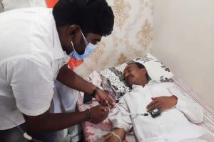 Former minister Eatala Rajender suspends padayatra in Huzurabad after falling ill